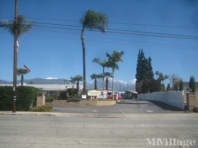 Mobile Home Park in La Verne CA