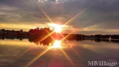 The Lakes Beautiful Sunset