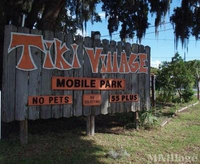 Mobile Home Park in Tavares FL