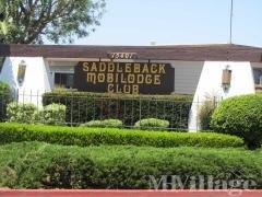 Saddleback Mobilodge