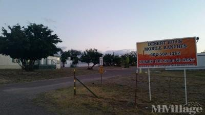 Mobile Home Park in Tombstone AZ