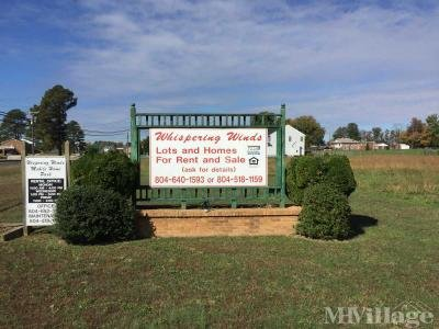 Mobile Home Park in Spring Grove VA