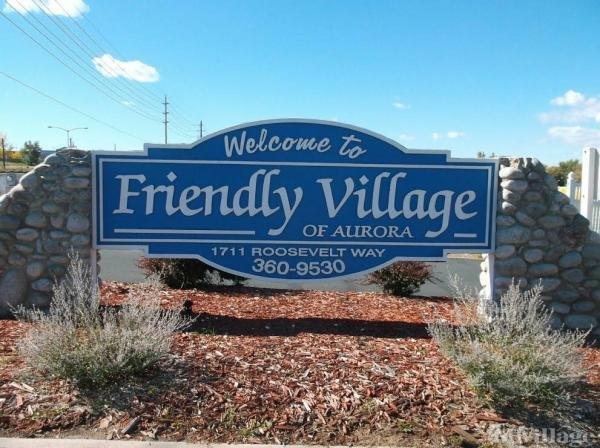 Friendly Village Of Aurora Mobile Home Park in Aurora, CO