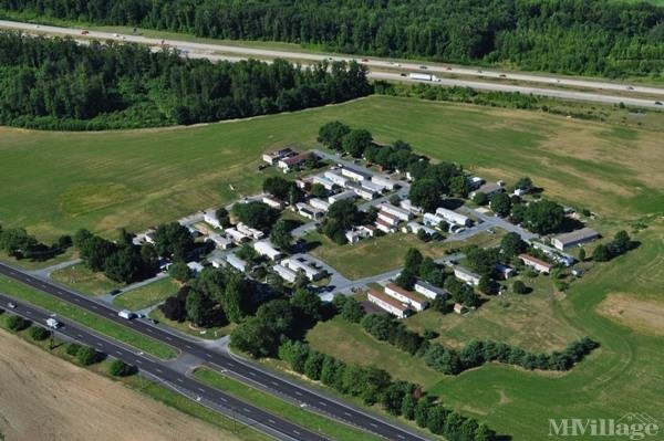 Frederick Lodge - aerial photo