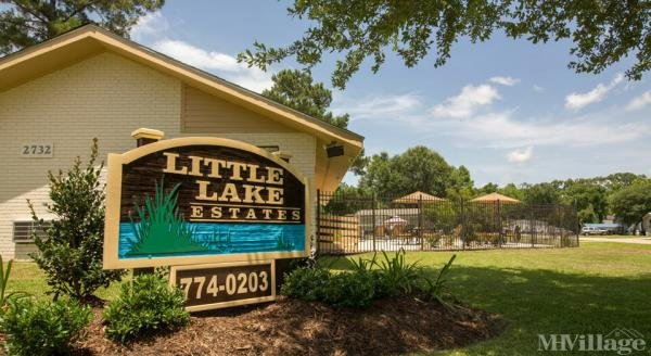Little Lake Estates Mobile Home Park in Baker, LA