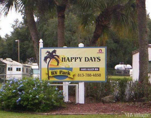 Photo of Happy Days RV Park, Zephyrhills, FL
