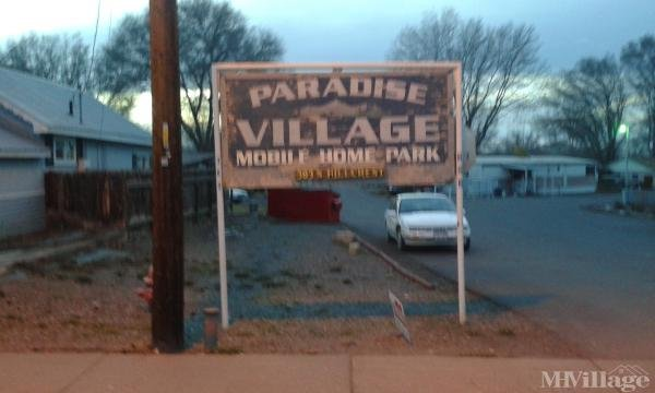 Paradise Village Mobile Home Park Mobile Home Park in Montrose, CO