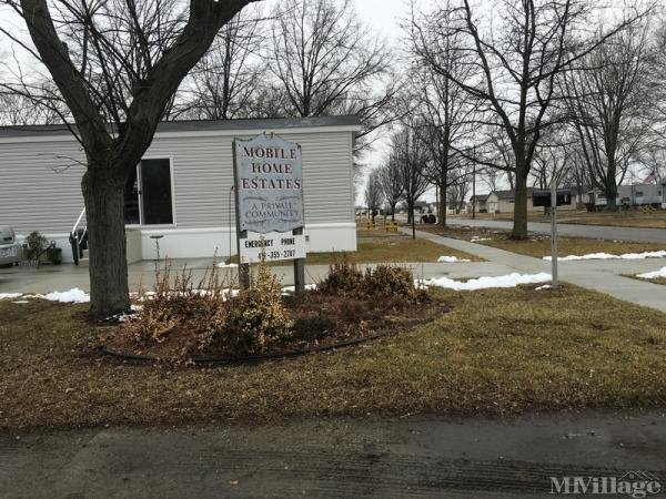 Mobile Home Estates Mobile Home Park in Clyde, OH