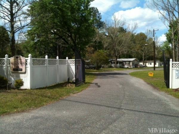 The Meadows Mobile Home Park in Jacksonville, FL