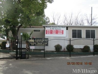Mobile Home Park in Rancho Cordova CA