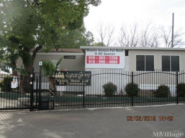 Photo of Aspen Grove MH and RV Community, Rancho Cordova, CA