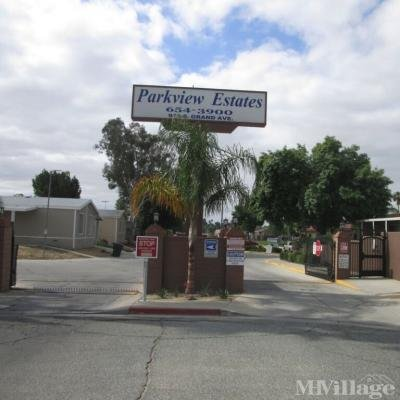 Mobile Home Park in San Jacinto CA
