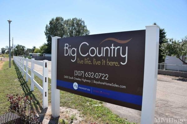 Big Country Estates Mobile Home Park in Cheyenne, WY