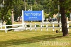 Birch Meadows entrance