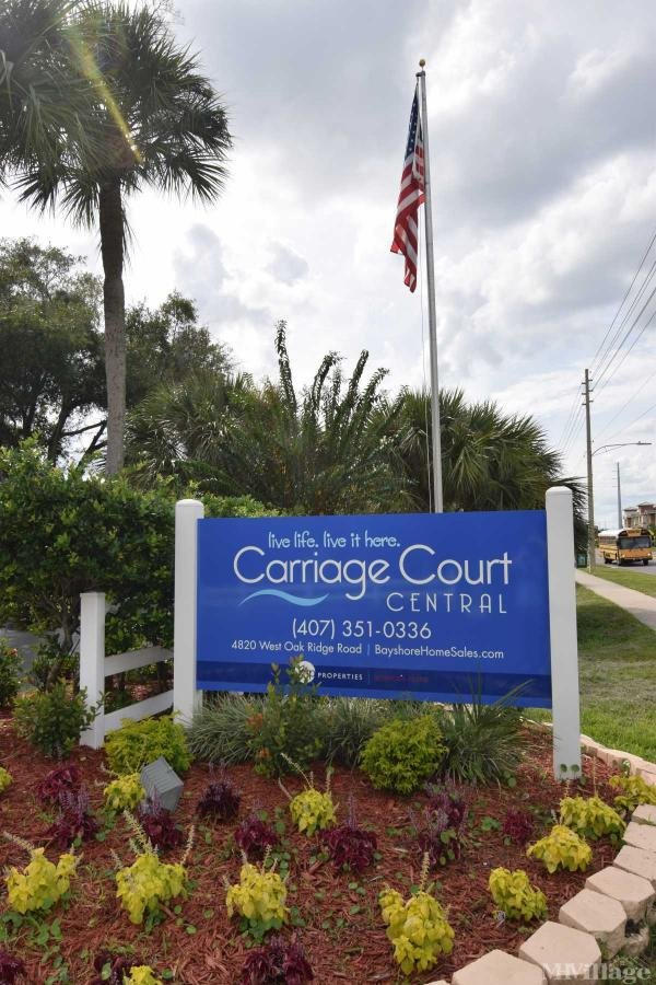 Carriage Court Central Mobile Home Park in Orlando, FL