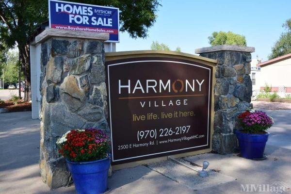 Harmony Village Mobile Home Park in Fort Collins, CO