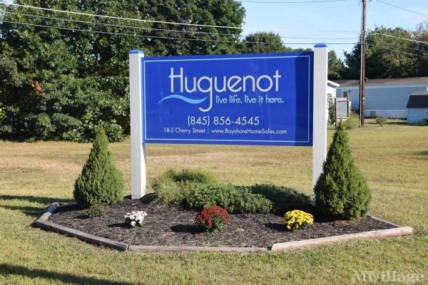 Huguenot Estates Mobile Home Park in Port Jervis, NY