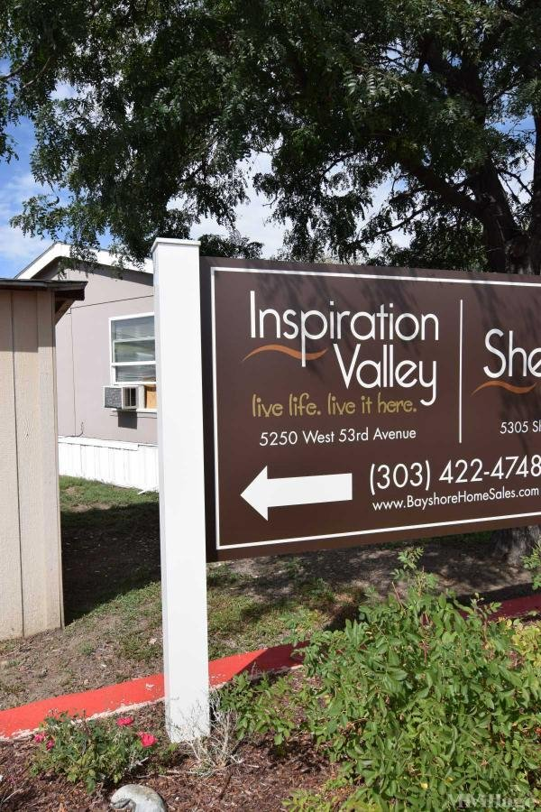 Inspiration Valley Mobile Home Park in Arvada, CO