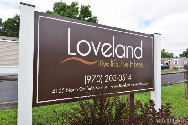 Loveland Mobile Home Park in Loveland, CO