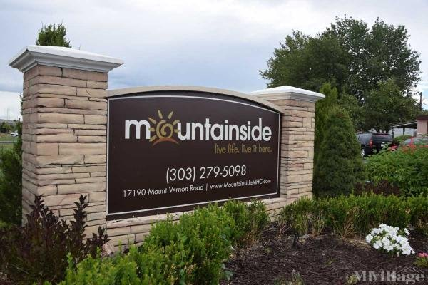 Mountainside Estates Mobile Home Park in Golden, CO