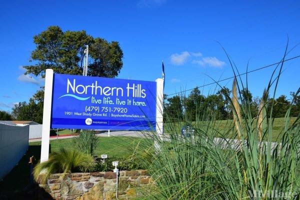 Northern Hills Mobile Home Park in Springdale, AR
