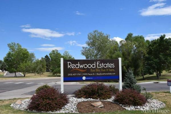 Redwood Estates Mobile Home Park in Thornton, CO