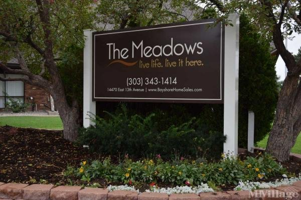 The Meadows Mobile Home Park in Aurora, CO