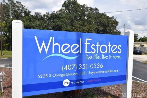 Wheel Estates Mobile Home Park in Orlando, FL