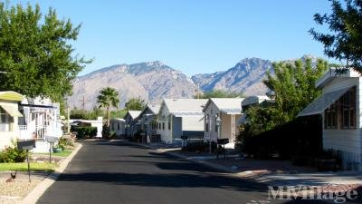 street view of Catalina Mountains
