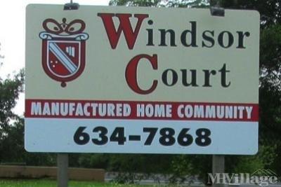 Entrance to Windsor Court