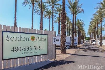 Mobile Home Park in Mesa AZ