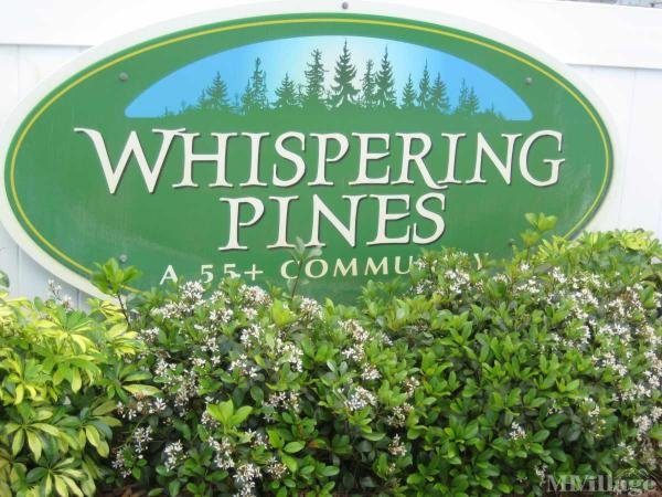 Whispering Pines Manufactured Home and RV Community Mobile Home Park in Titusville, FL