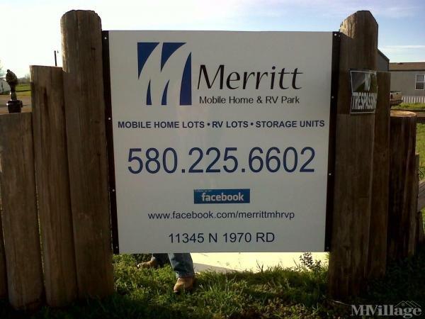 Photo of Merritt Mobile Home & RV Park, Elk City, OK