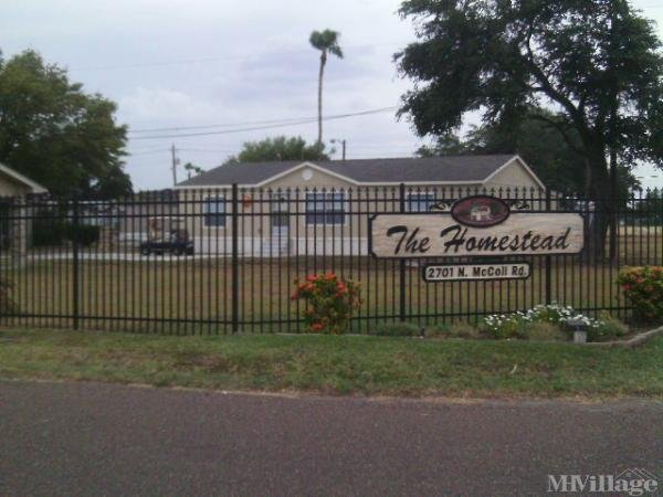 Photo of Homestead Mobile Home Community, Mcallen, TX