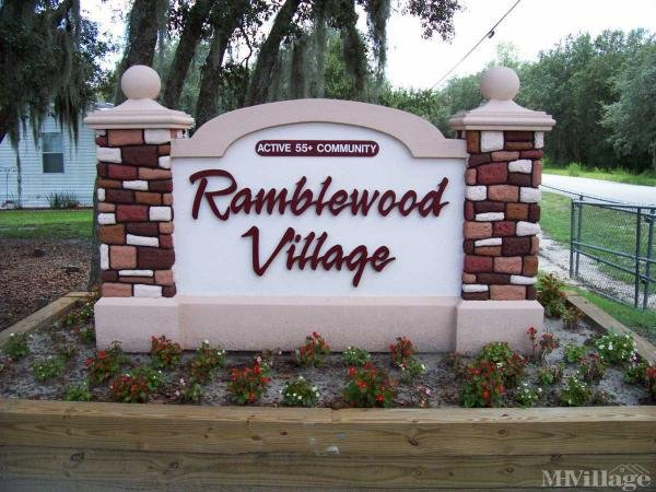 Ramblewood Village Mobile Home Park in Zephyrhills, FL