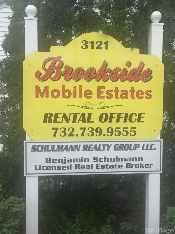 Brookside Mobile Estates Mobile Home Park in Hazlet, NJ