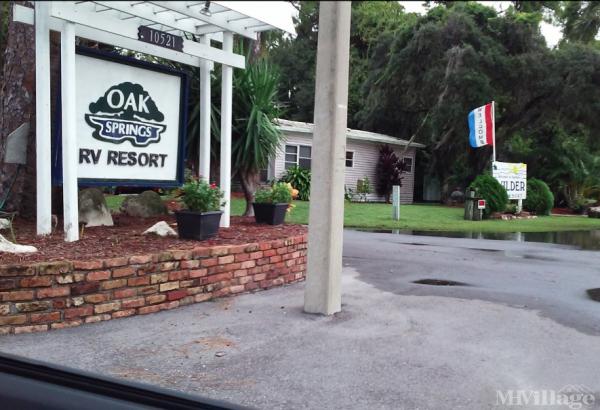 Photo of Oak Springs Travel Park, Port Richey, FL