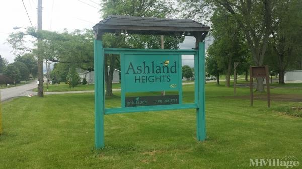 Ashland Heights Mobile Home Park in Ashland, OH