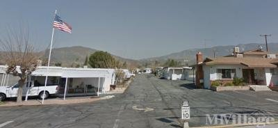 Mobile Home Park in Cherry Valley CA