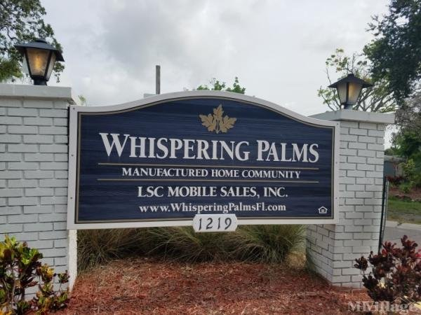 Whispering Palms Mobile Home Park in Bradenton, FL