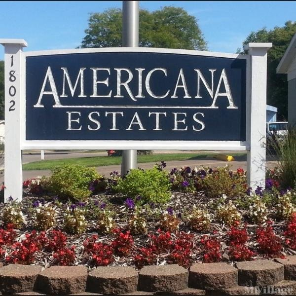 Americana Estates Mobile Home Park in Kalamazoo, MI