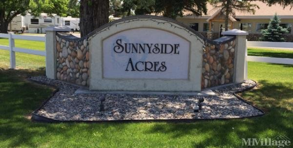 Sunnyside Acres Mobile Home Park Mobile Home Park in Idaho Falls, ID