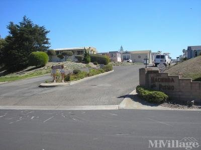 Mobile Home Park in Pismo Beach CA