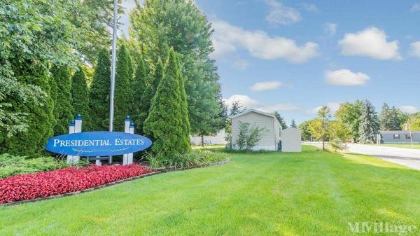Presidential Estates Mobile Home Park in Hudsonville, MI