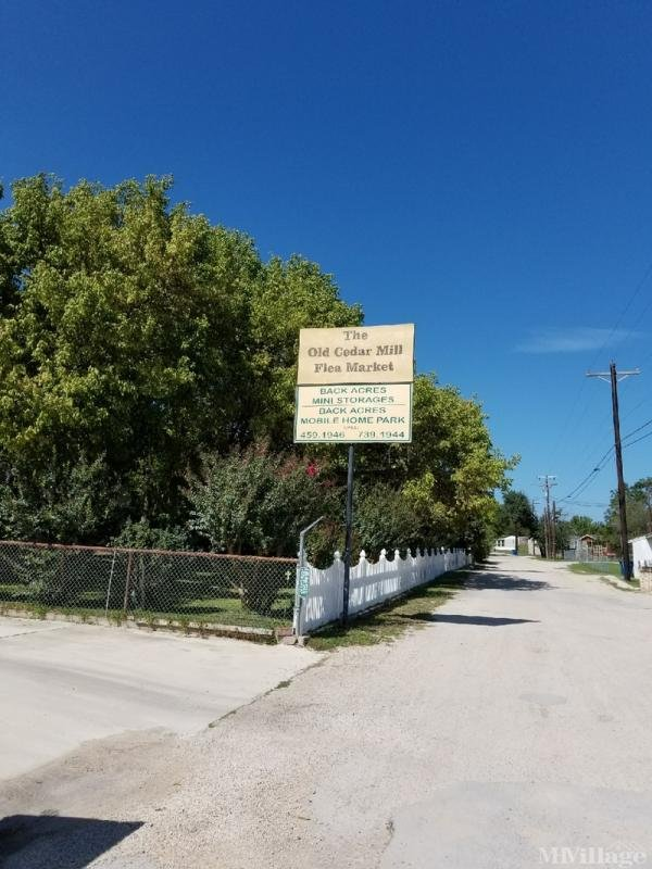 Photo of Backacres Mini Storage & Mobile Park, Kerrville, TX