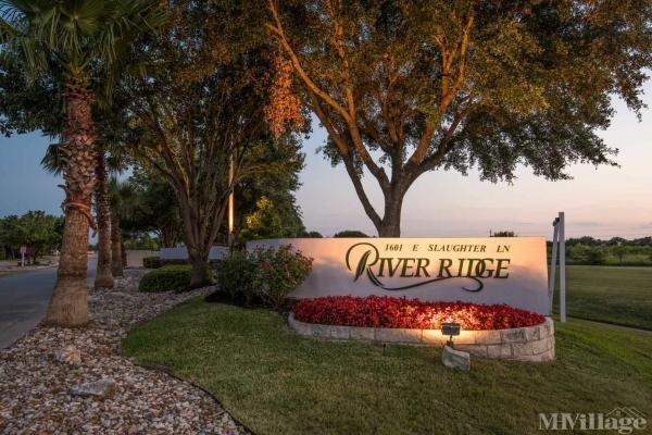 River Ridge Estates Mobile Home Park in Austin, TX