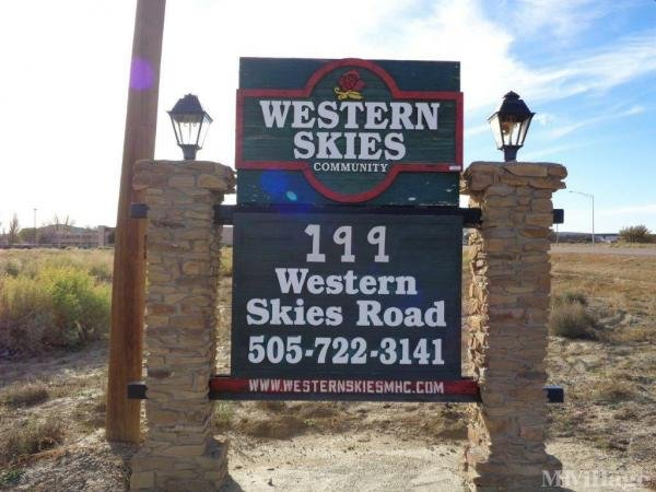Photo of Western Skies Mobile Home Park, Gallup, NM