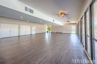 Large clubhouse room