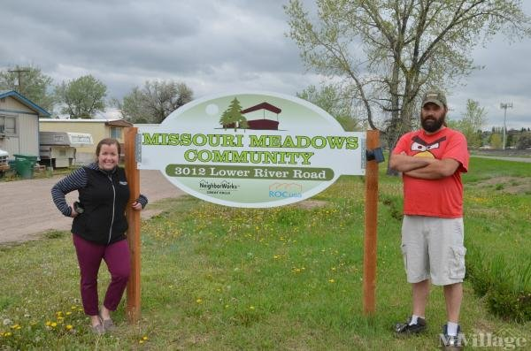 Missouri Meadows Community, inc. Mobile Home Park in Great Falls, MT