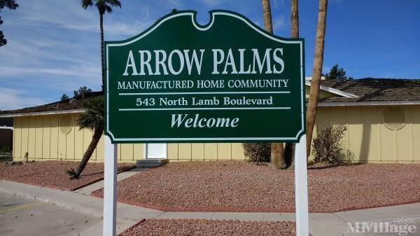 Photo of Arrow Palms MHP, Las Vegas, NV